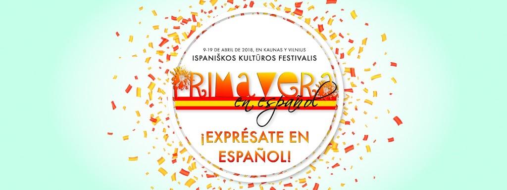 PRIMAVERA EN ESPAÑOL 2018 – Ispanų kalbos ir kultūros klubas Kaune